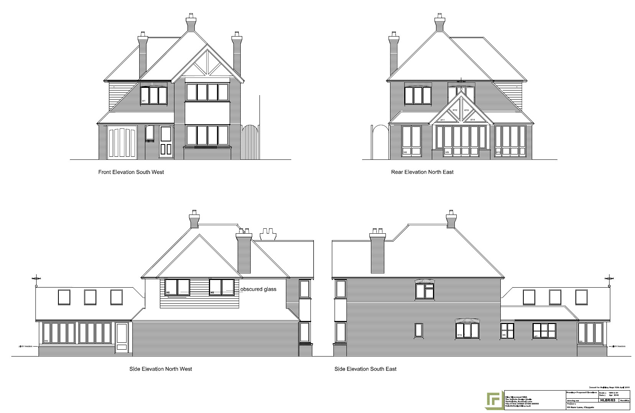 Sample Front Elevation U : Sbm projects